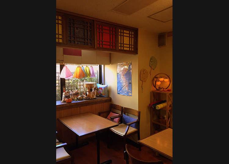 1. Kanryu Sabou: Language lessons over tea at this Korean cafe