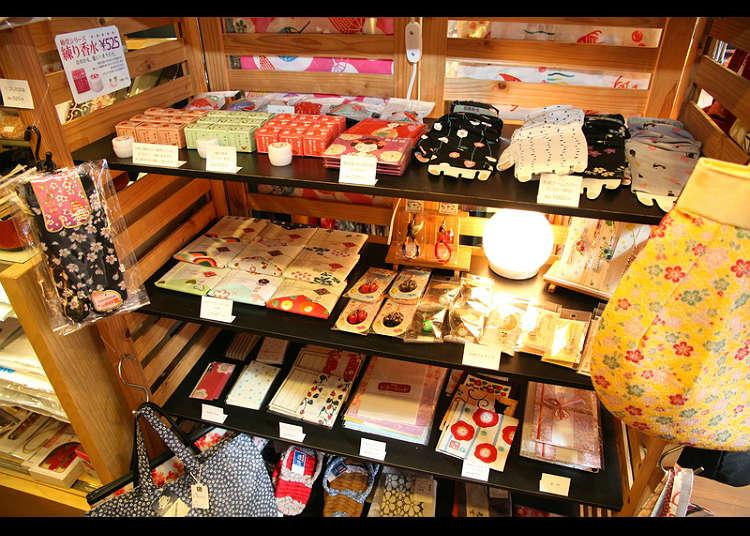 '시키노 와코모노(사계절의 일본 소품) 하나시미즈'에서 일본식 소품을