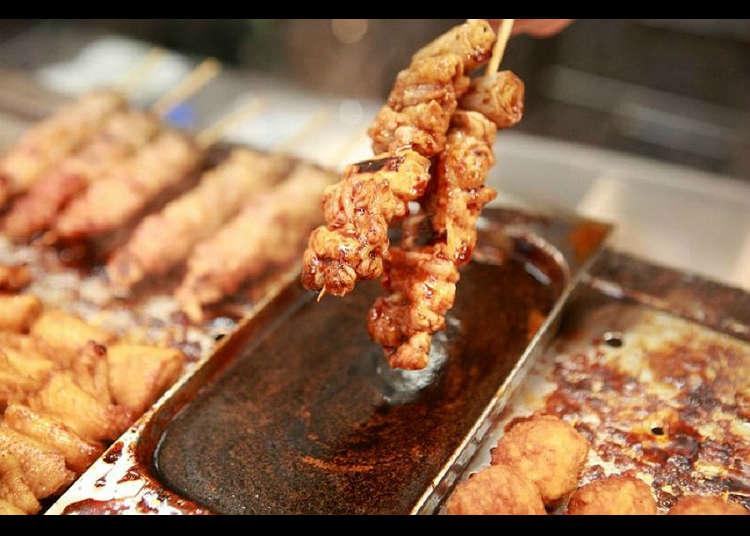 烤雞肉串的老店「鳥勇」
