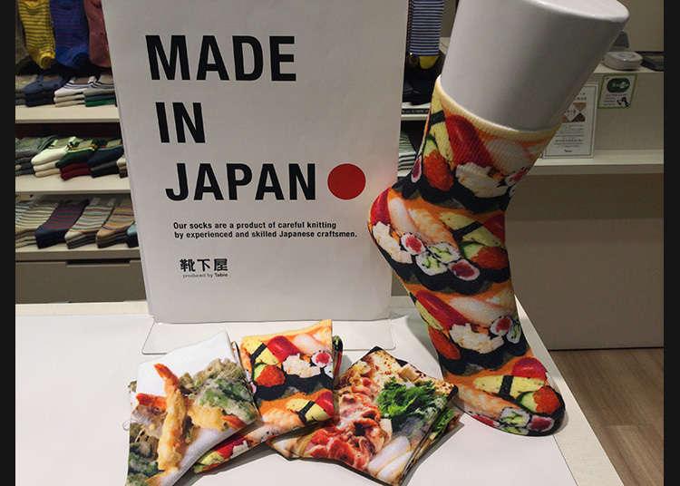 """Kutsushitaya: Funky and Comfy Socks """"Made in Japan"""""""