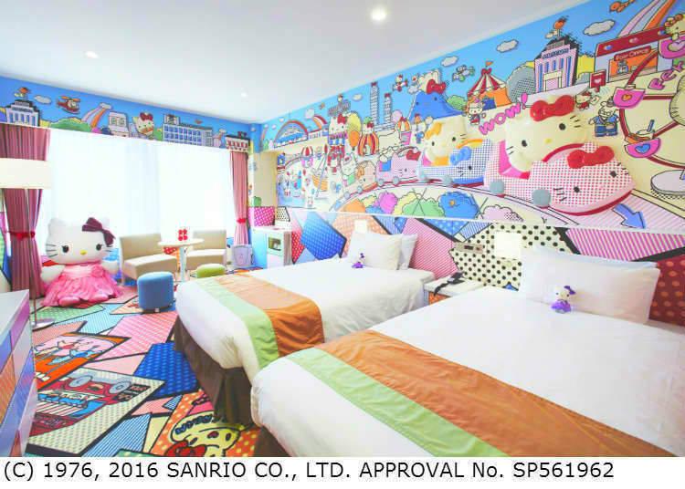 2. Keio Plaza Hotel Tokyo: Chock full of Hello Kitty charm