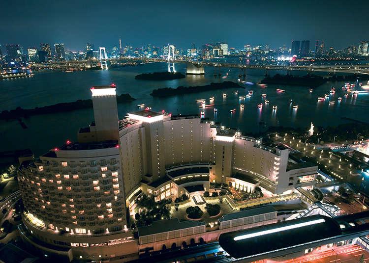 도쿄 만 풍경을 한눈에