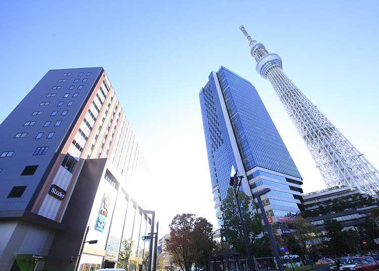 Bersesuaian sebagai titik permulaan pelancongan di Tokyo