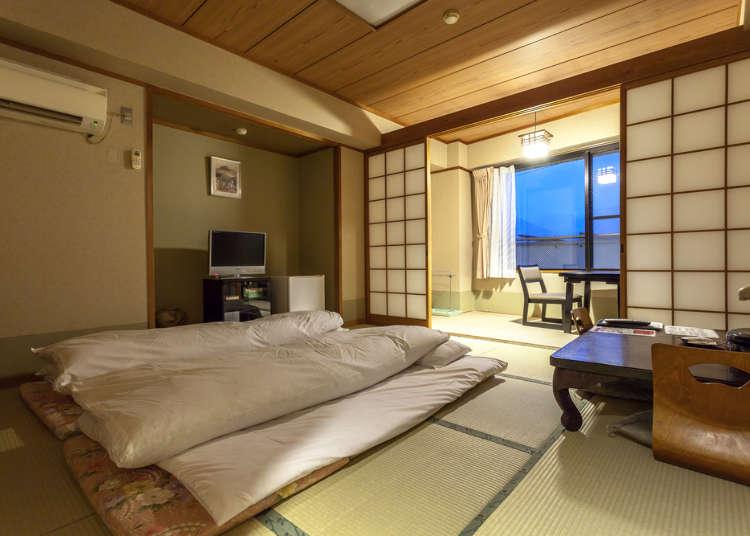 欢迎外国人的到来! 凝聚日本特色的三家酒店
