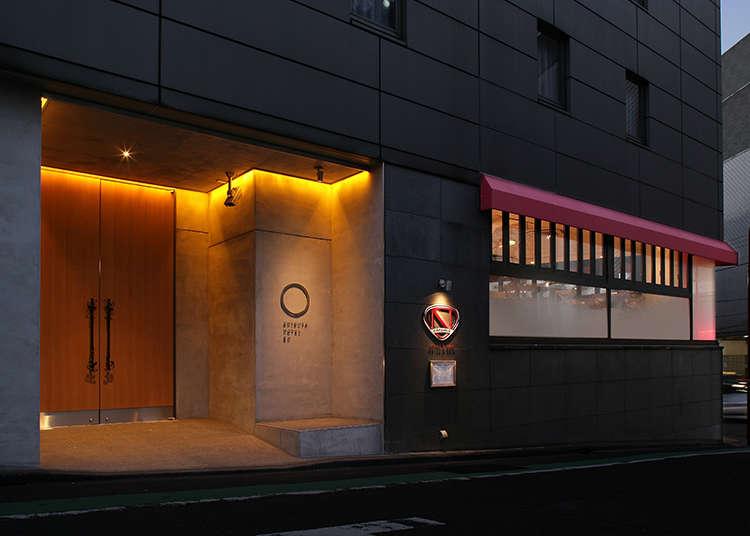 感受到和之心的「SHIBUYA HOTEL EN」