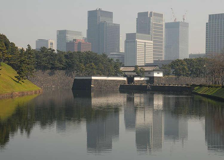 오후 14:00 고쿄(일본 왕궁) 산책