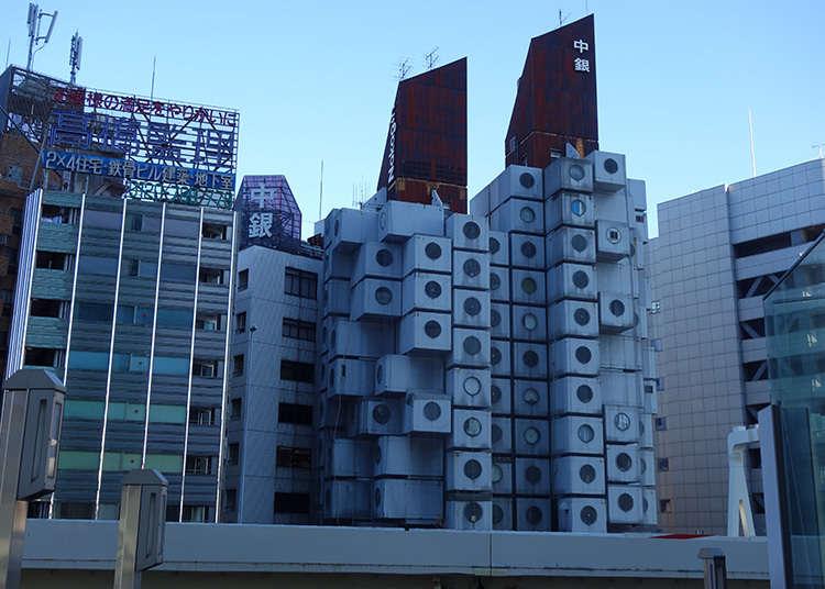 Tercengang Melihat Nakagin Capsule Tower