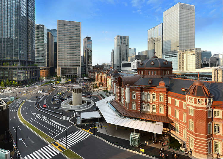 This is the way to get around in Tokyo Station at the first time!