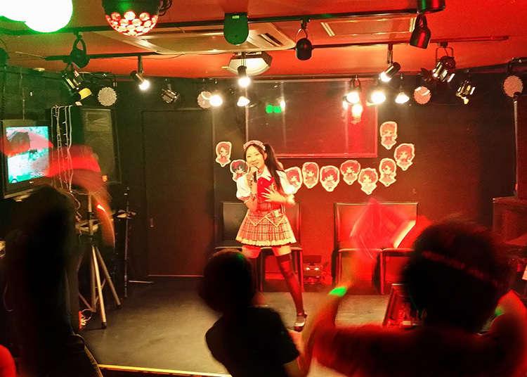 3. Go to an underground Akihabara idol concert