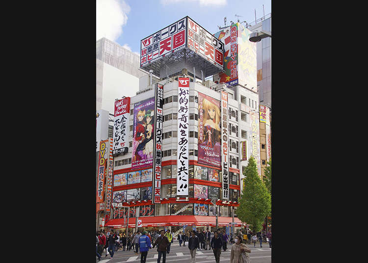 6. Check out elaborate figurines in Akihabara Japan