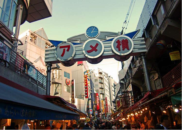 在上野的「阿美橫丁」購入超便宜商品吧!