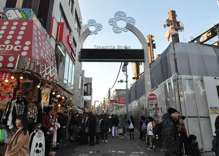 4. Harajuku Takeshita Street: A must-see if you are in Harajuku!