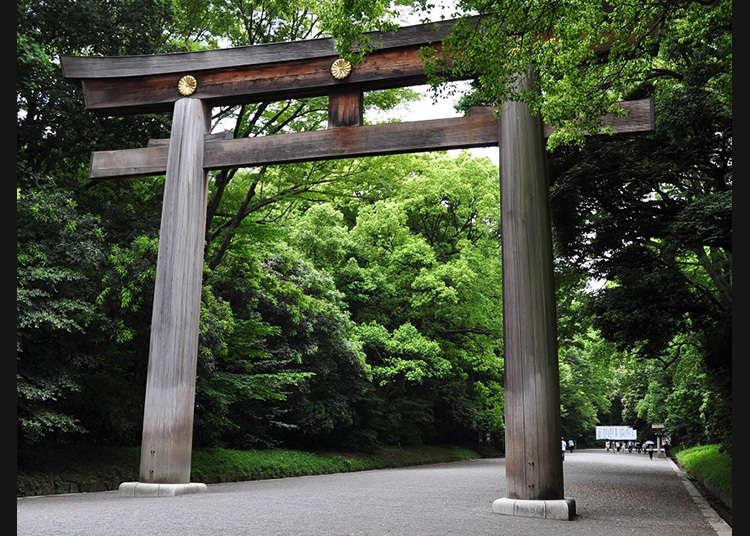 일본에서 가장 큰 도리이