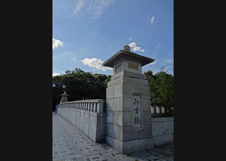 穿越神宮橋