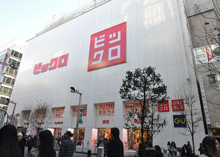 Shop for consumer electronics and clothes at the same time