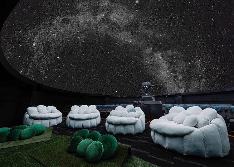 ใช้เวลาแสนโรแมนติคใต้ท้องฟ้าที่เต็มไปด้วยดวงดาว
