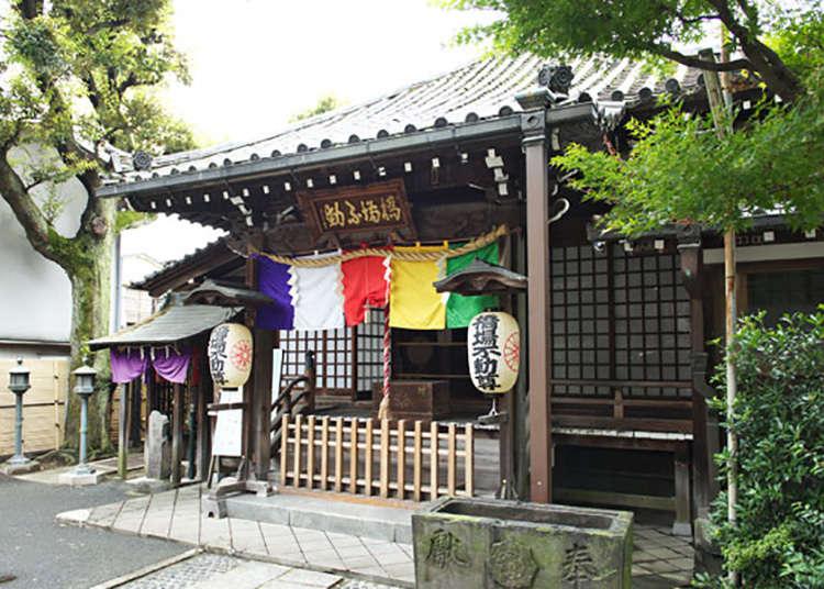 """""""ฮาชิบะฟุโดอิน"""" ต้นแปะก๊วยอายุ 700 ปี"""