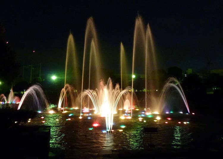 Taman mewakili Yokosuka yang dipilih dalam Peraduan Taman antara 100 Taman Bandar