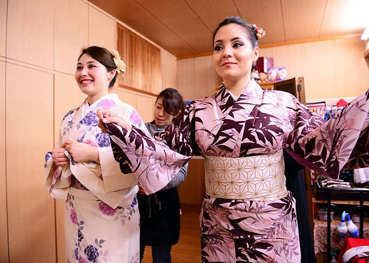 租套和服感受日本風情吧!