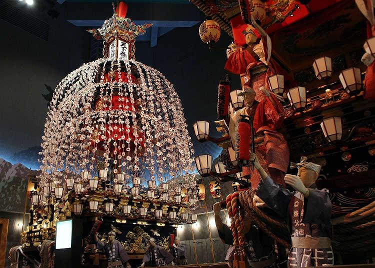 通过''秩父夜祭''学习传统文化的展示馆