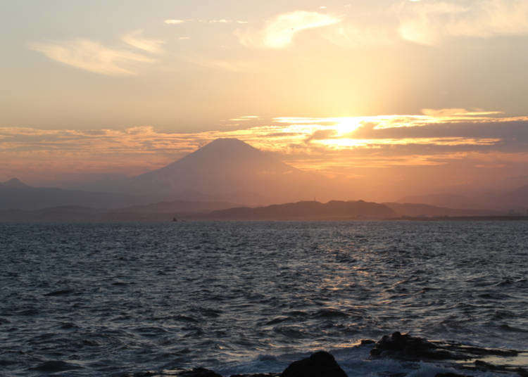 Perjalanan Kecil Melihat Lautan! Jalan-jalan ke Pulau Enoshima