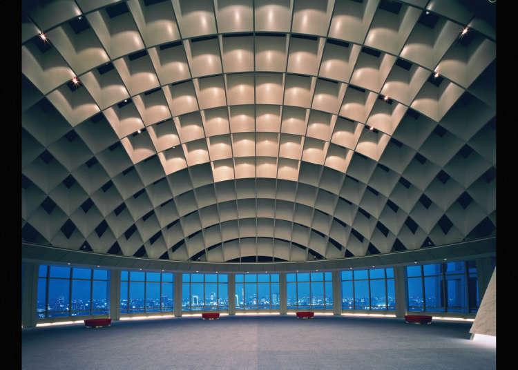 富士電視台球形瞭望室「HACHI TAMA」