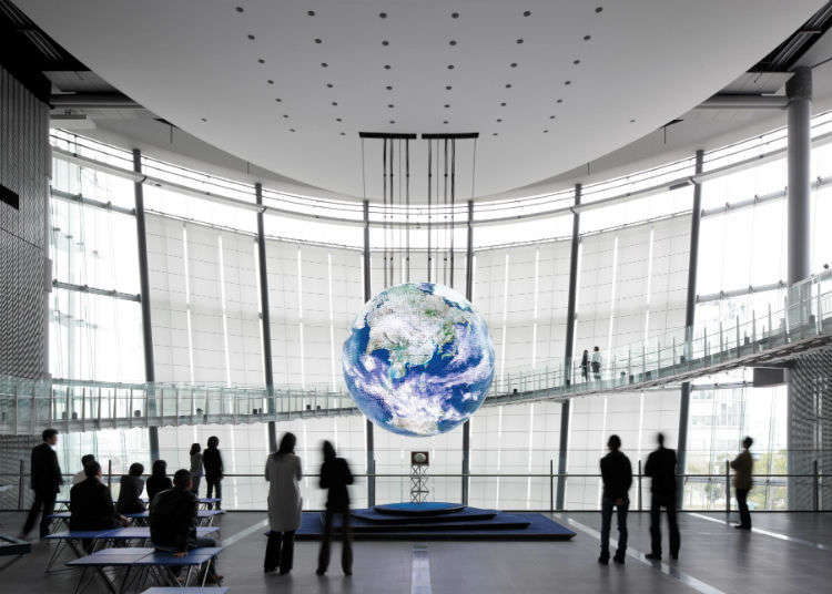 5. Try Out Futuristic Technology at the Miraikan in Odaiba