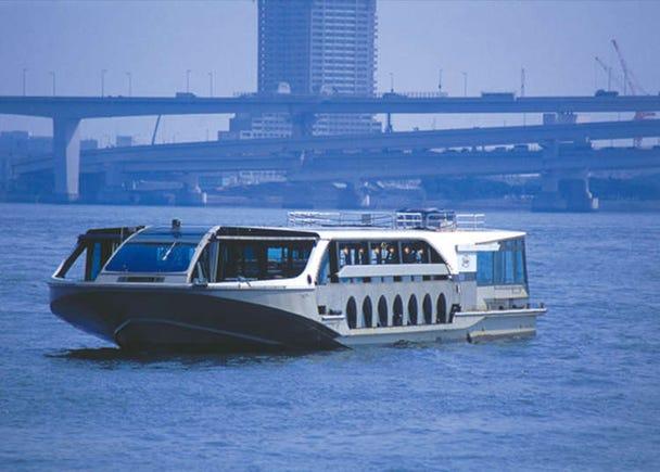 9. Take a Mini Cruise and Enjoy Odaiba's Scenery by Sea Bus