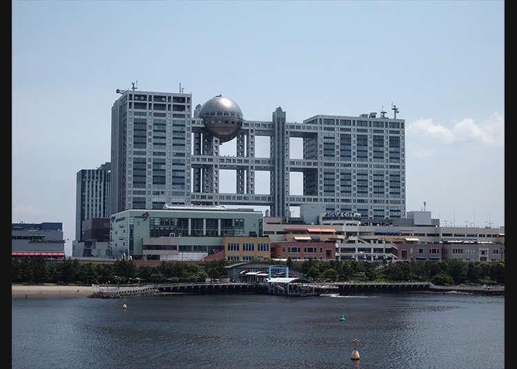 到象徵台場的「球形瞭望室」觀賞一望無際的東京海灣