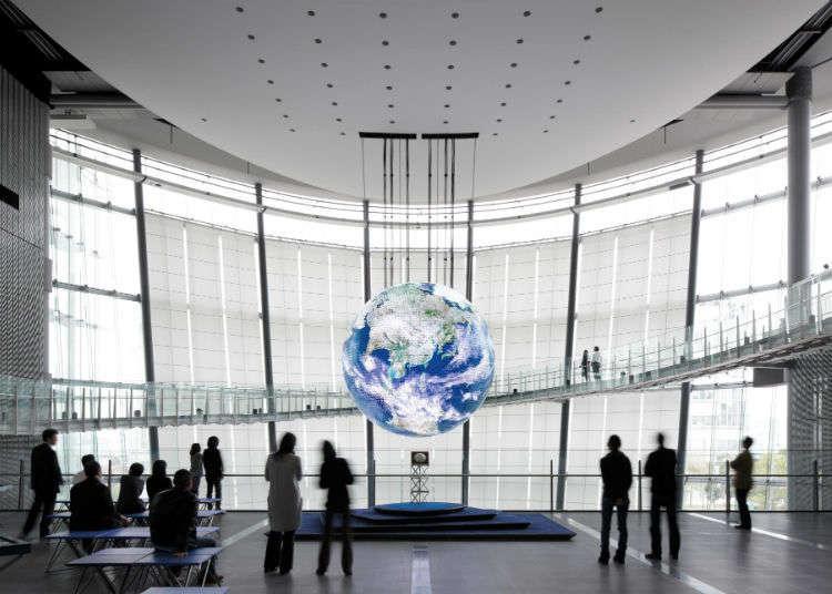 在位於台場附近的「日本科學未來館」體驗尖端科學!