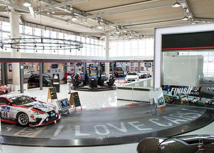 台場的豐田汽車展示場「MEGA WEB」