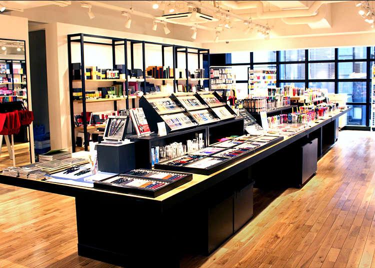 首先要介紹的是日本網羅最多商品的文具店「銀座・伊東屋」。