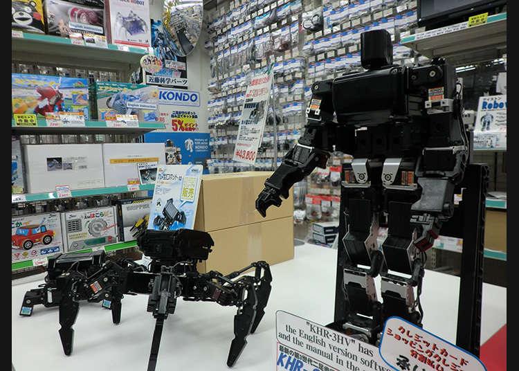 ร้านขายอะไหล่หุ่นยนต์โดยเฉพาะร้านแรกในญี่ปุ่น !