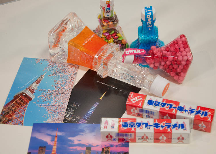 Get some Tokyo Tower souvenirs!