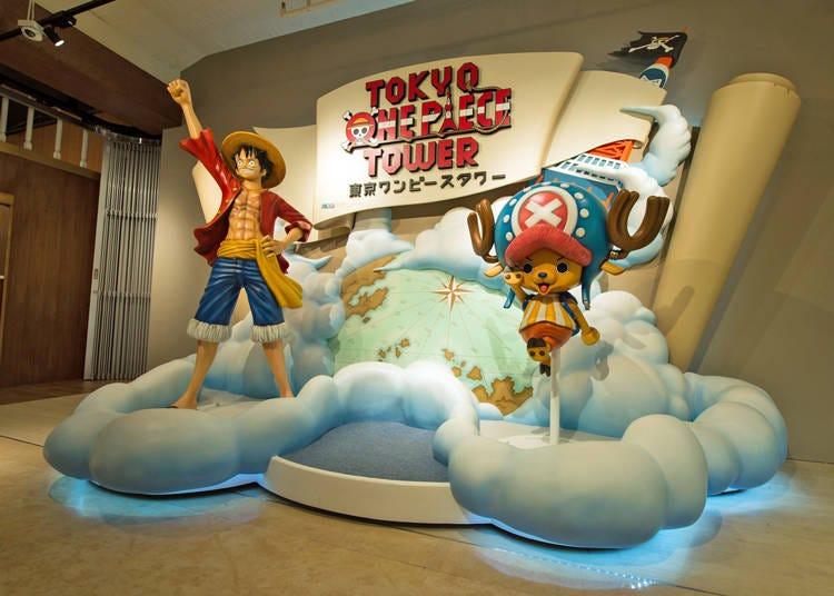 ONE PIECE ファンなら絶対に行くべき「東京ワンピースタワー」