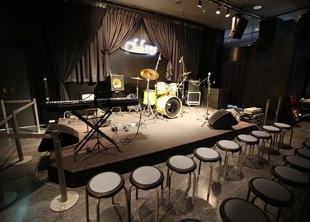 สถานที่พบปะเสียงดนตรีในโตเกียวทาวเวอร์
