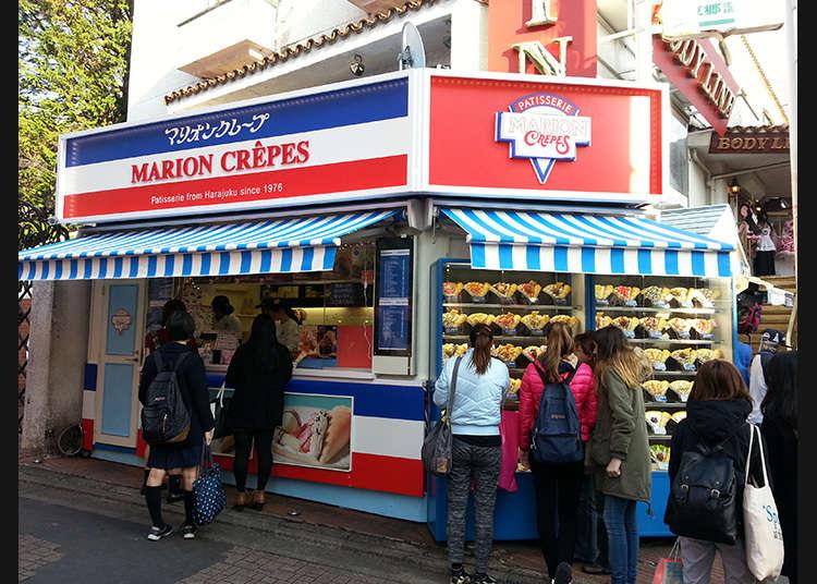 Kedai crepe yang popular!