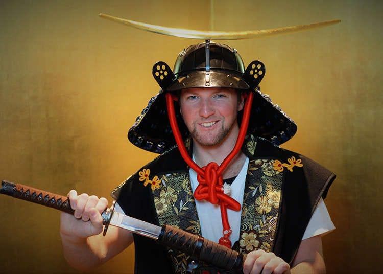 Become a Samurai at the Samurai Museum in Tokyo!
