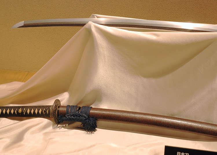 武士的兵器是既美丽而又恐怖的存在