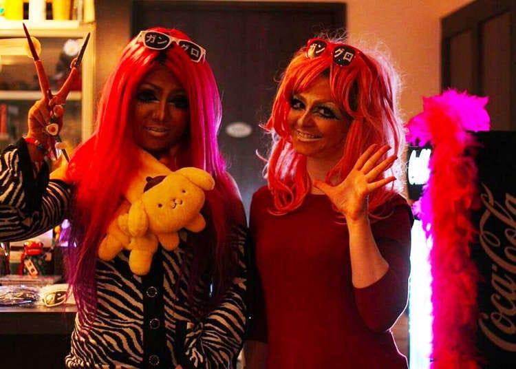Real Harajuku Girls Getting A Japanese 90s Gyaru Style Makeover