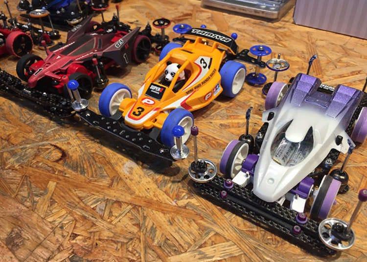 Visit Tokyo S Tamiya Mini 4wd Car Shop And Bar For High Speed Fun Live Japan Travel Guide