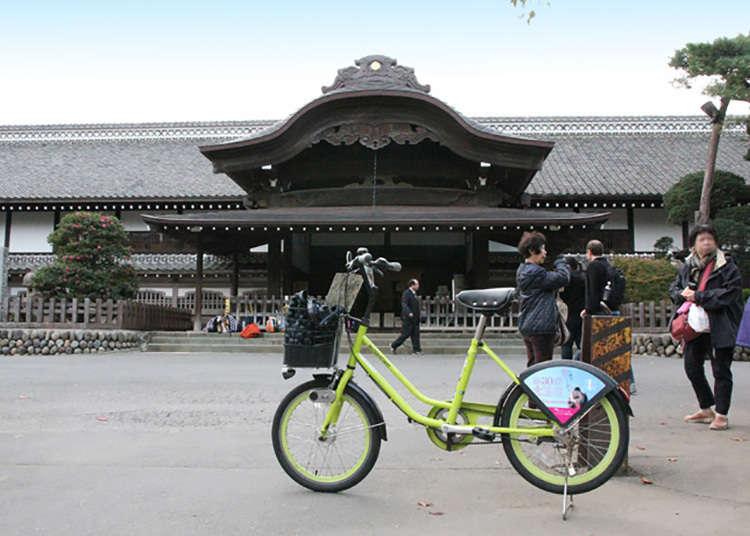 Cycle around Koedo, Kawagoe on rented bicycles