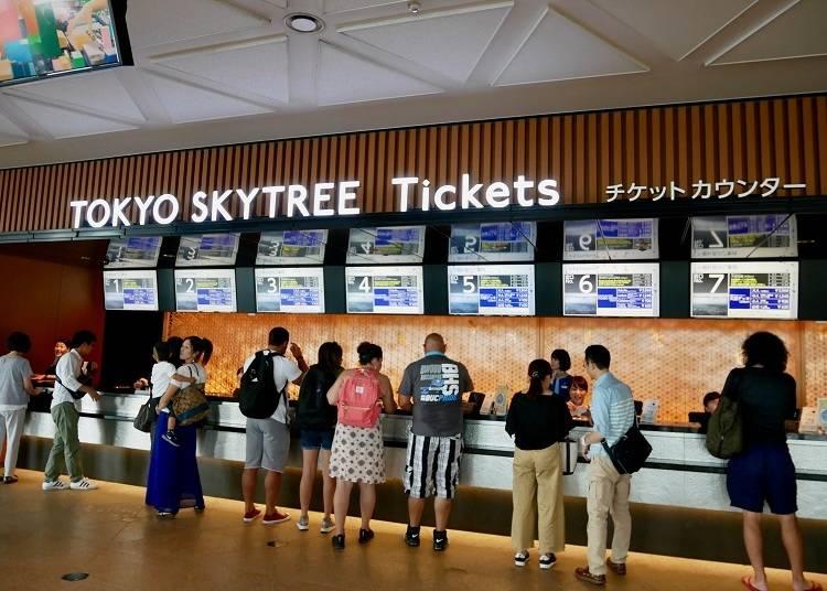 實地走訪東京晴空塔的展望台,票價和小提醒