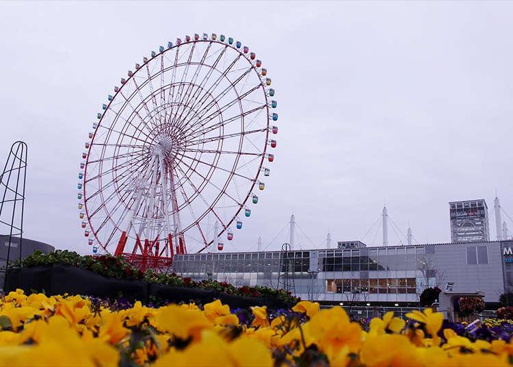 '대관람차'에서 도쿄의 절경을 독점