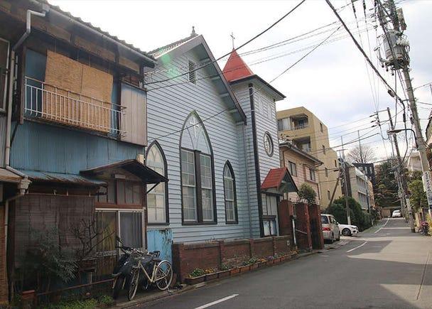 """""""โบสถ์เนะซุ"""" สถาปัตยกรรมสไตล์ตะวันตกในสมัยปี ค.ศ. 1900"""