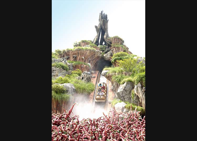 """""""Splash Mountain"""" yang Penuh Ketegangan"""