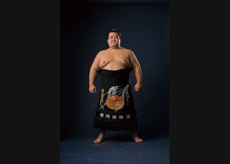 Yokozuna: the Ring Entering Ceremony