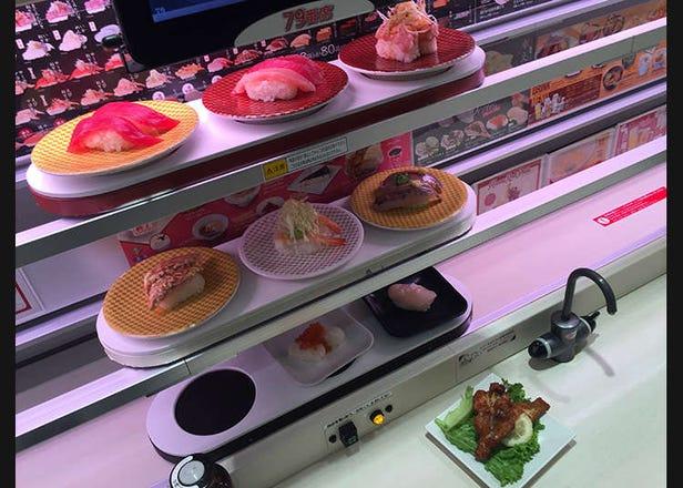 Yang Aneh dan Lucu di Jepang ~Edisi Sushi Bar~