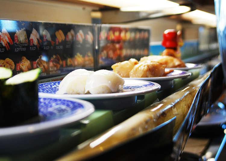 회전 초밥의 역사