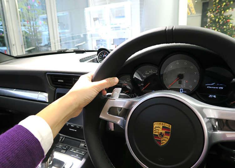 Boleh pandu cuba Porsche setelah makan!?